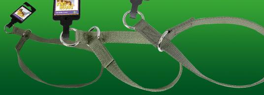 Stryphalsband av nylon